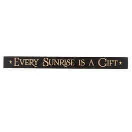 "36"" ""Every Sunrise is a Gift"" Wood Wall Sign"