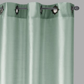 "84"" Fancy Grommet Window Curtains, Set of 2"