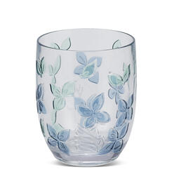 Petal and Stone™ Floral Double Old-Fashion Glass view 1