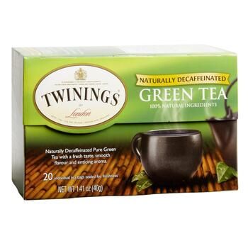 Twinings® Decaffeinated Green Tea, 6 Boxes