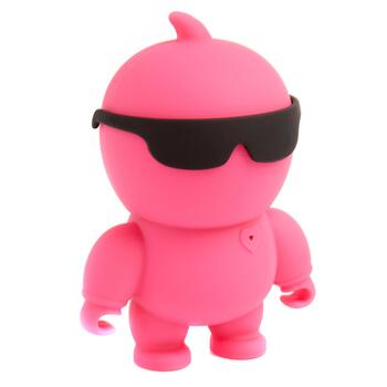 Pink Dude Bluetooth® Portable Speaker