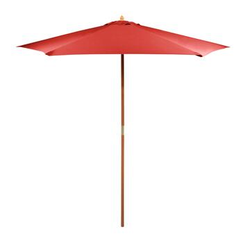 9' Brick Double-Pulley Market Umbrella