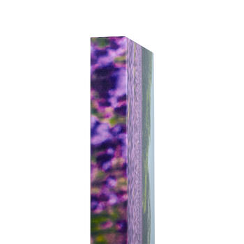 Lavender Field Photograph Canvas Wall Art view 2