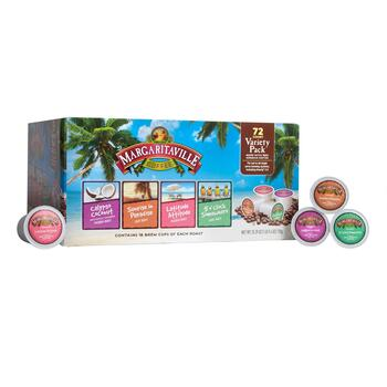 Margaritaville® Variety Pack Coffee Pods, 72-Count