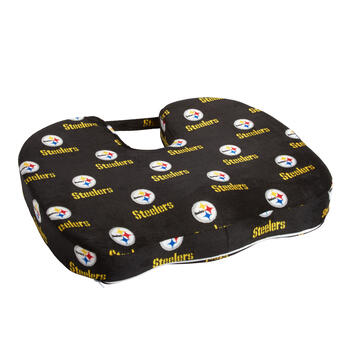 Pittsburgh Steelers NFL Memory Foam Chair Cushion view 1