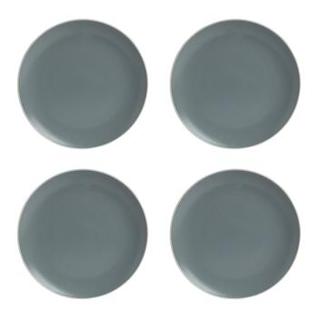 "Mason Cash® 10.5"" Solid Colored Dinner Plates, Set of 4"
