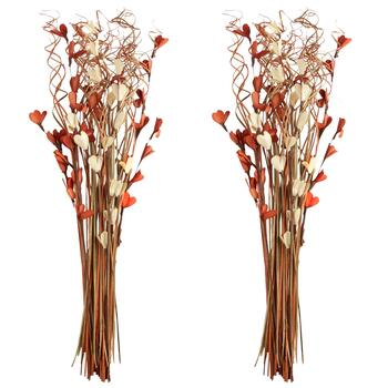 "31"" Curly Dried Reed Bouquets, Set of 2"