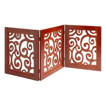tri fold wood scroll pet gate christmas tree shops and that
