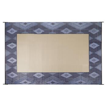 9'x12' Blue Adobe Reversible All-Weather Patio Mat