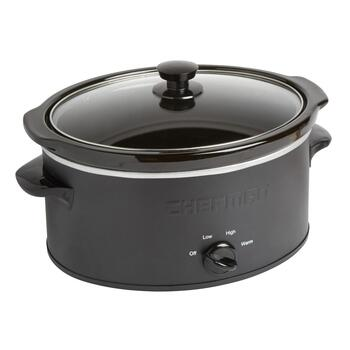 Chefman® Black 5-Qt. Slow Cooker