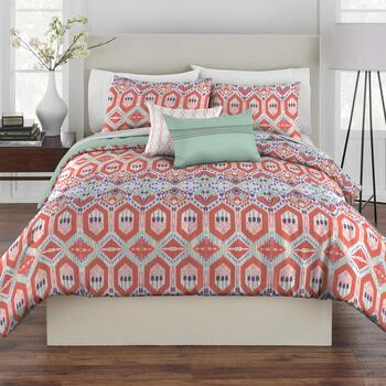 Rust Gypsy Comforter Set