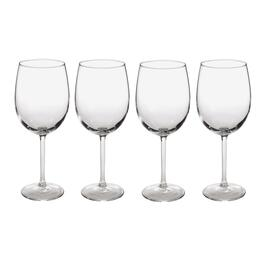 White Wine Glasses, Set of 4