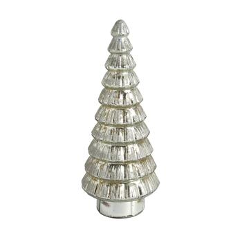 "16"" Gold Glitter Mercury Glass Tree"