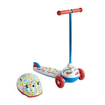 Fisher-Price Popping Scooter with Helmet