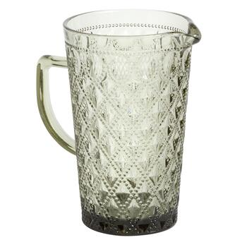 48-oz. Smokey Textured Melamine Drink Pitcher