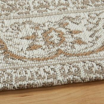 Beige Venezia Tapestry All-Weather Rug view 2