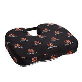 Cincinnati Bengals NFL Memory Foam Chair Cushion View 1