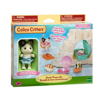 Calico Critters™ Seaside Treasure Play Set view 1