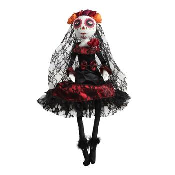 "26"" Day of the Dead Skeleton Halloween Decor"