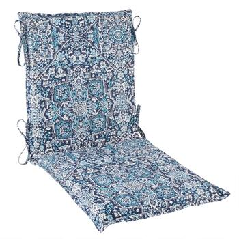 Coastal Living® Seascapes Medallion Indoor/Outdoor Hinged Chair Pad