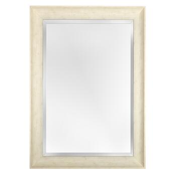 24 X36 Lana White Frame Wall Mirror