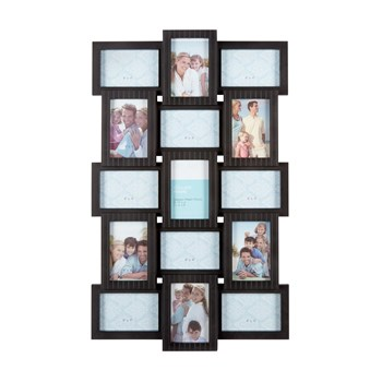 Beadboard 15-Opening Multi-Dimensional Collage Frame