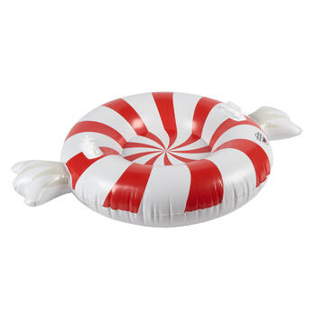 Peppermint Candy Inflatable Snow Tube view 1