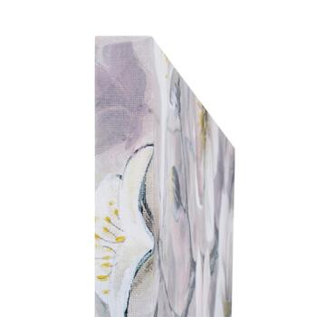 "24""x36"" White Flowers Canvas Wall Art view 2"