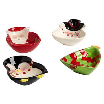 Holiday Friends Tidbit Bowls, Set of 4 view 2