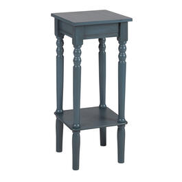 Square Accent Table with Bottom Shelf view 1