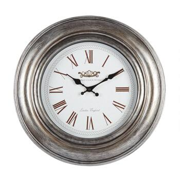 "18"" Grooved Roman Numeral Wall Clock"