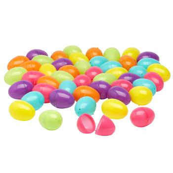 192-Count Plastic Pastel Easter Eggs