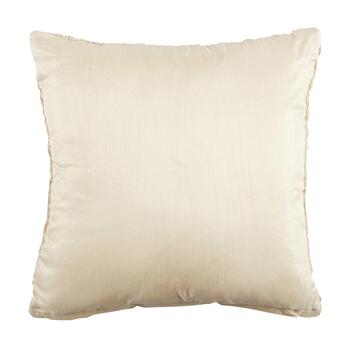 Embellished Metallic Marble Square Throw Pillow view 2