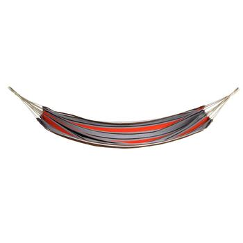 Gray/Orange Stripes Hammock in a Bag