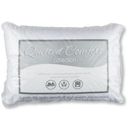 Quilted Comfort Collection Jumbo Bed Pillow view 1
