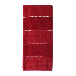 Red Heather Ombre Kitchen Towel view 1