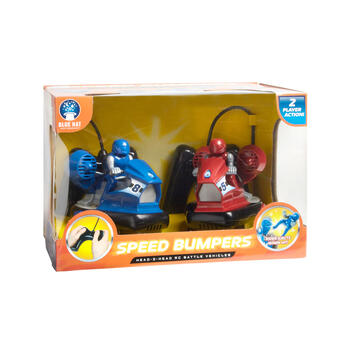Remote Control Bumper Car Play Set, 2-Pack view 2