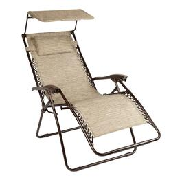 Anti-Gravity Lounge Chair with Canopy