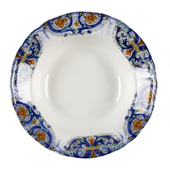 Tuscan Scroll Serving Bowl view 2