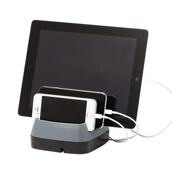 3-Port USB Charging Station