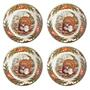 Bountiful Harvest Turkey Cereal Bowls, Set of 4 view 2