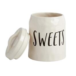 "The Grainhouse™ Cursive ""Sweets"" Canister"