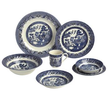Blue Willow Imperial Dinnerware Collection
