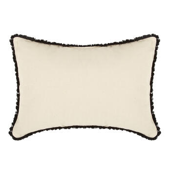 """Erin Go Bragh"" Shamrocks Oblong Throw Pillow view 2"