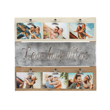 "The Grainhouse™ 18.5""x20.5"" ""Love Lives Here"" Photo Clip Wall Decor view 1"