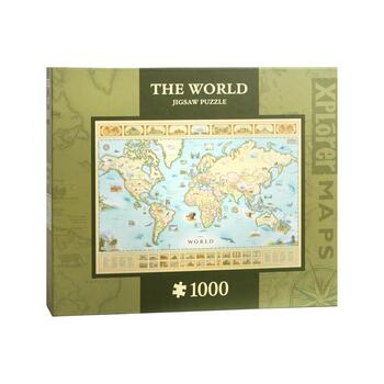 """The World"" 1,000-Piece Jigsaw Puzzle"