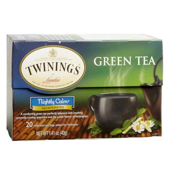 Twinings® Nightly Calm® Decaffeinated Green Tea, 6 Boxes