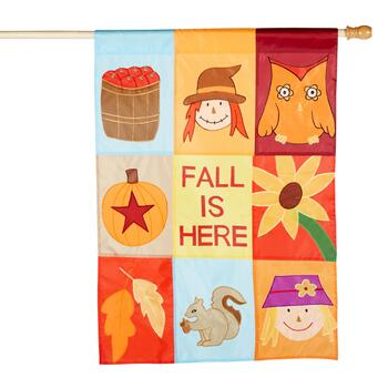 "28""x40"" ""Fall Is Here"" Yard Flag"
