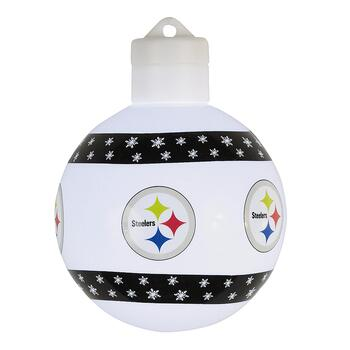 Pittsburgh Steelers Lighted Christmas Ornament