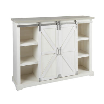 The Grainhouse™ White Sliding Door Cabinet view 2